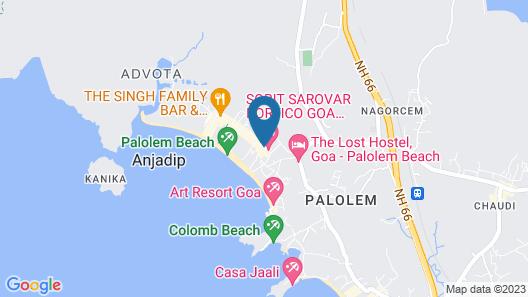 Sobit Sarovar Portico Map