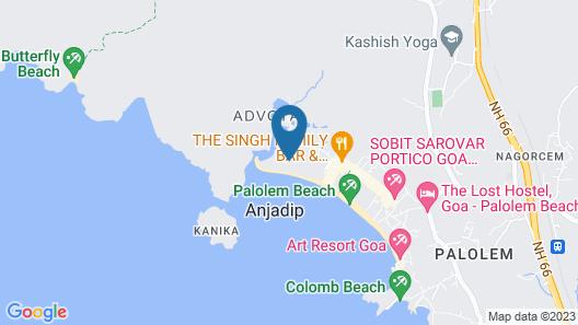 Oxygen Palolem Map