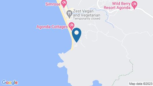OYO 24710 Royal Agonda Beach Villas Map