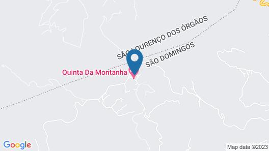 Quinta DA Montanha Map