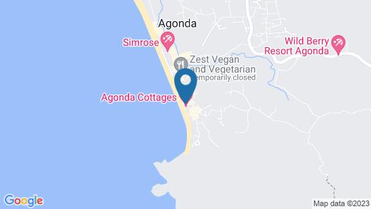 Jojolapa Agonda Resort Map