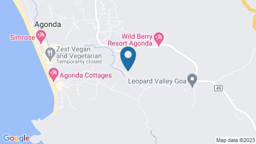 Khaama Kethna Wellbeing Retreat Centre Map