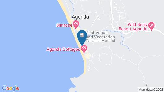 Cuba Agonda Map