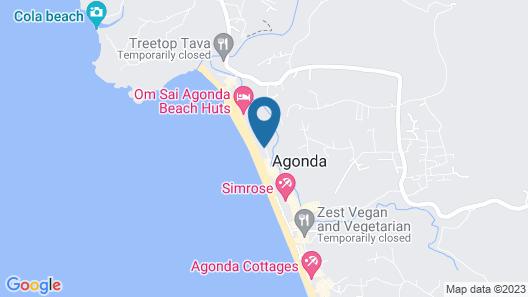 Mariposa Beach Grove Map