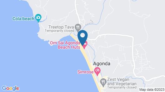 Agonda Paradise Map