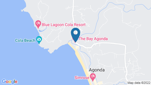The Bay Agonda Map