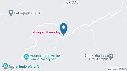 Mangaal Farmstay Goa Map