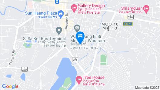 The Impress Sisaket Map