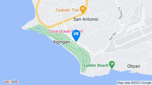 Coral Ocean Resort Map