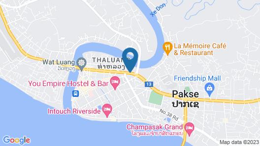 Champasak Grand Hotel Map