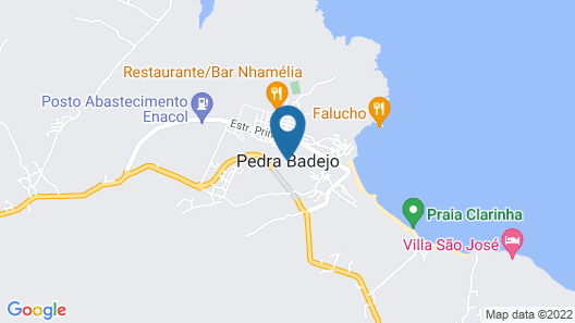 Villa Santa Cruz Santiago Map