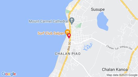 Surfrider Resort Hotel Map
