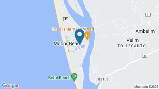 The Leela Goa Map