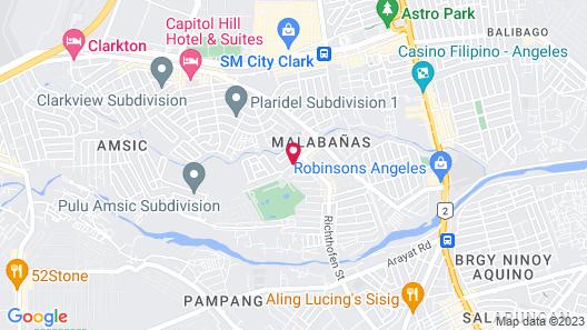 Poleng Suites Hotel Map