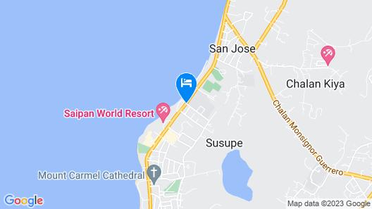 Saipan World Resort Map