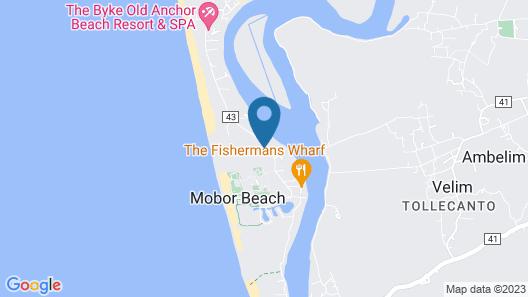 Gaffino's Beach Resort Map