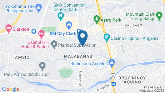 Elyseah Condotel Map