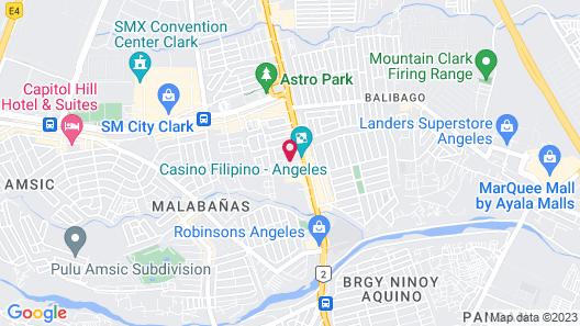 Century Hotel Map
