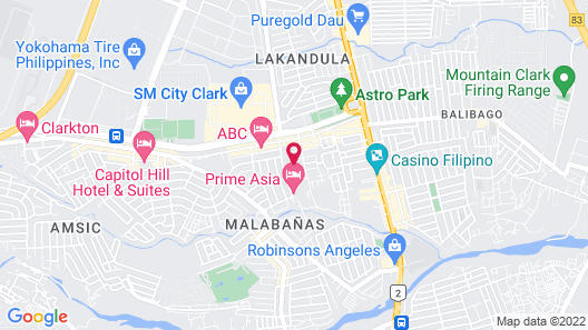 DM Residente Villas Map