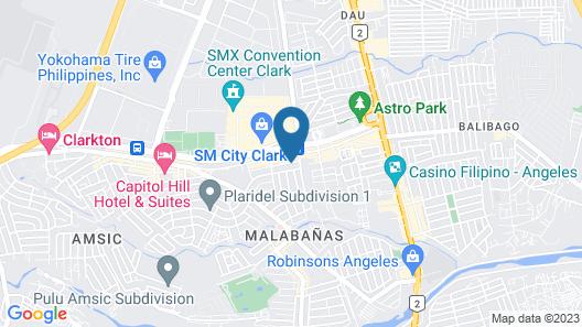 Clark Imperial Hotel Map