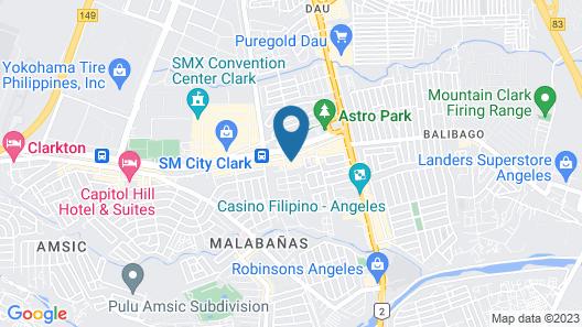 Luxury Suites E Map
