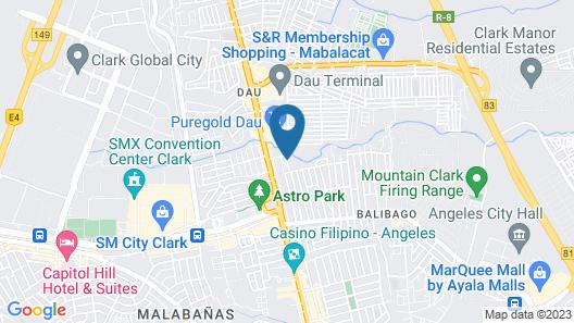 Woodland Hotel Map
