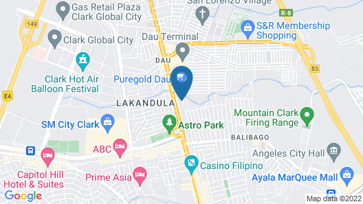 999 Hotel Map