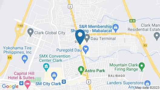 Hotel Sogo Dau Map