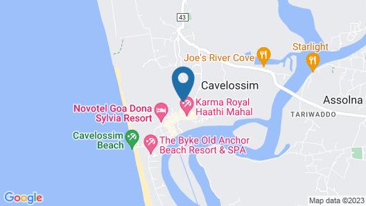 Mobor Beach Resort Map