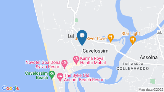 Go Green Spice Eco Resort Map