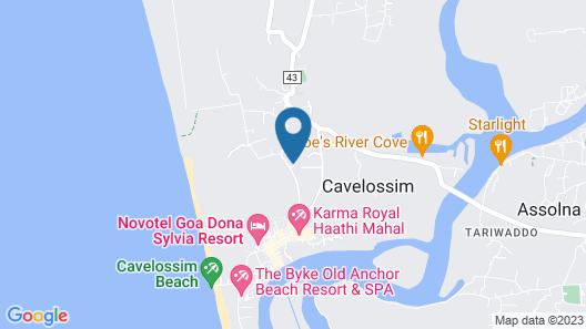 Veeniola Apartment - Stay Near Goa Map