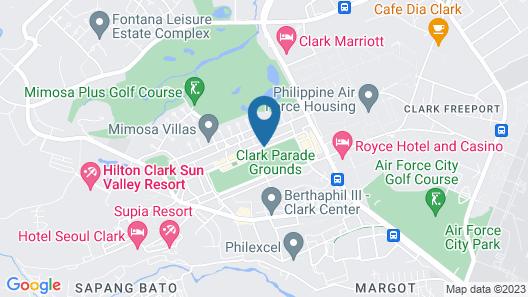 Hilton Clark Sun Valley Resort Map