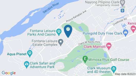 Fontana Hot Spring Leisure Parks Map