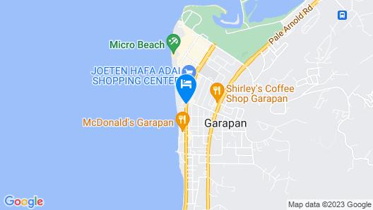 Saipan Ocean View Hotel Map