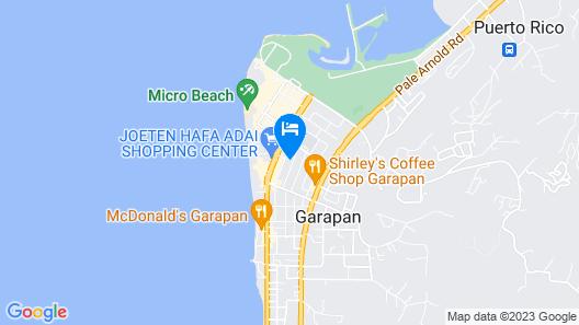 Holiday Saipan Hotel Map