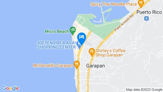 Serenti Hotel Map