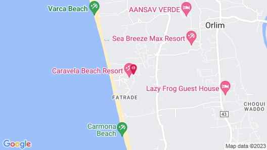 Caravela Beach Resort Map