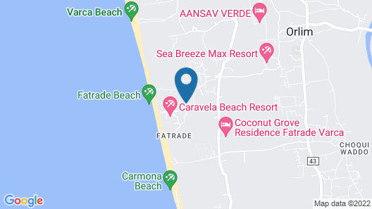 Caravela Beach Resort Map