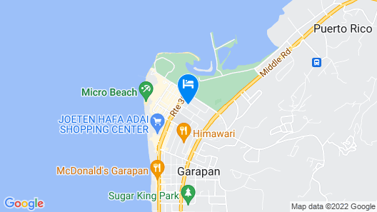 Avenue Guesthouse Map