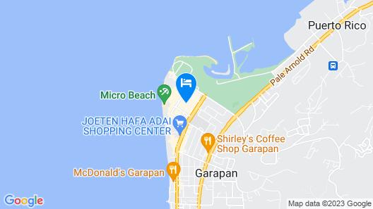 Hanamitsu Hotel & Spa Map