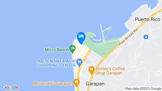 Hyatt Regency Saipan Map