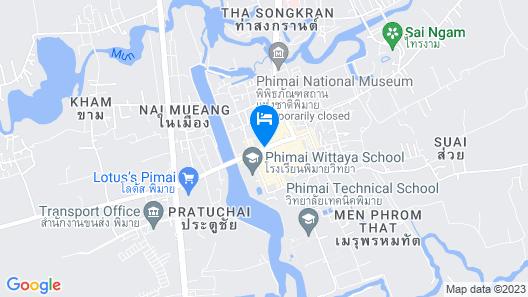 Phimai Residence Map