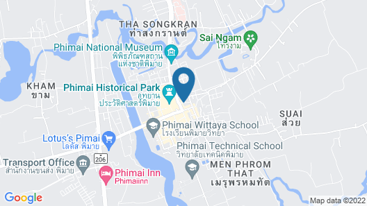 Phimai Paradise House Map
