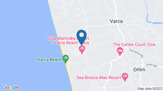 The Zuri White Sands, Goa Resort & Casino Map