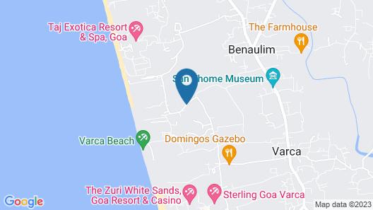 Club Mahindra Emerald Palms, Goa Map