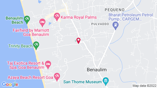 San Joao Holiday Homes Map
