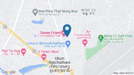 Sunee Grand Hotel Map