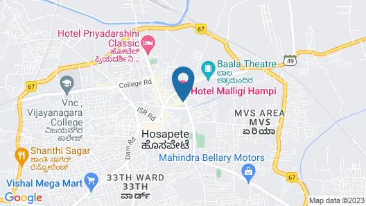 Hotel Malligi Map