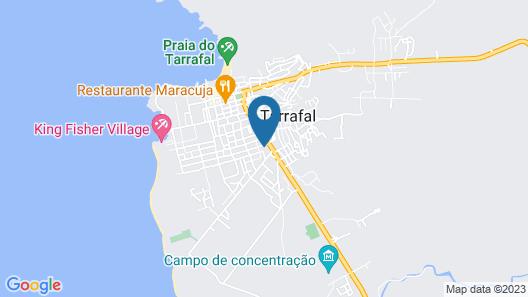 Recent house Tarrafal Map