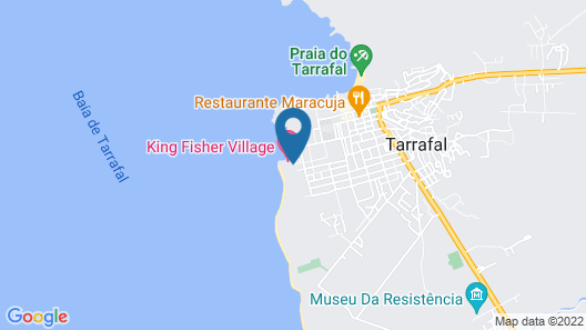 Tarrafal Guest House Map
